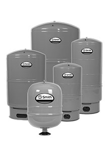 Pump expansion vessels